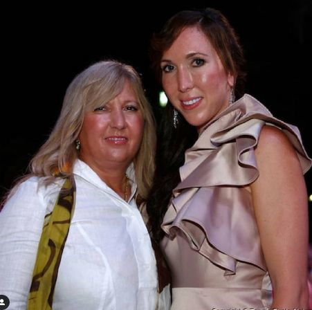 Jelena s mamou.