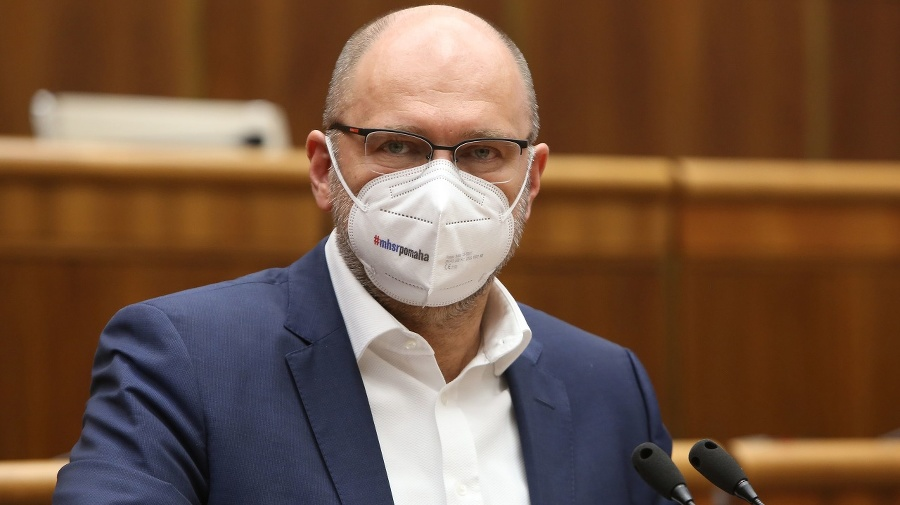 Minister Richard Sulík