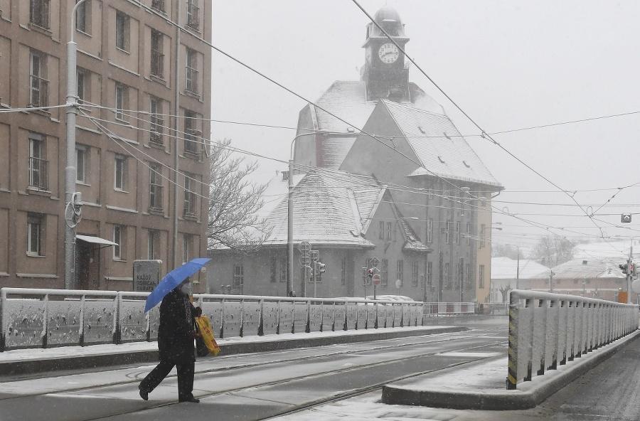 Sneh prekvapil aj Košičanov.