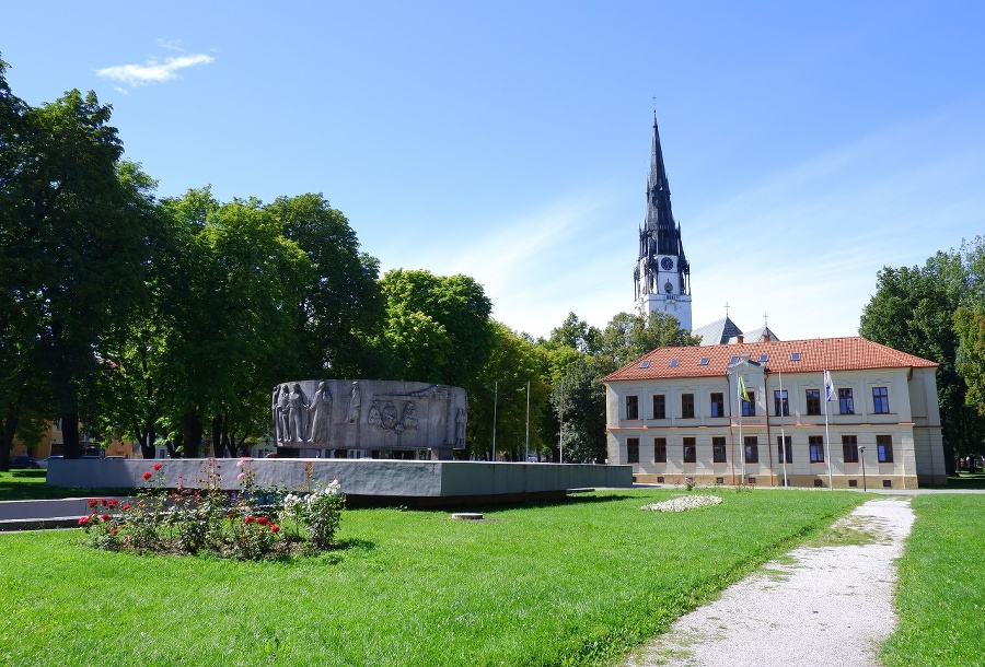 Pomník Obetiam SNP, budova