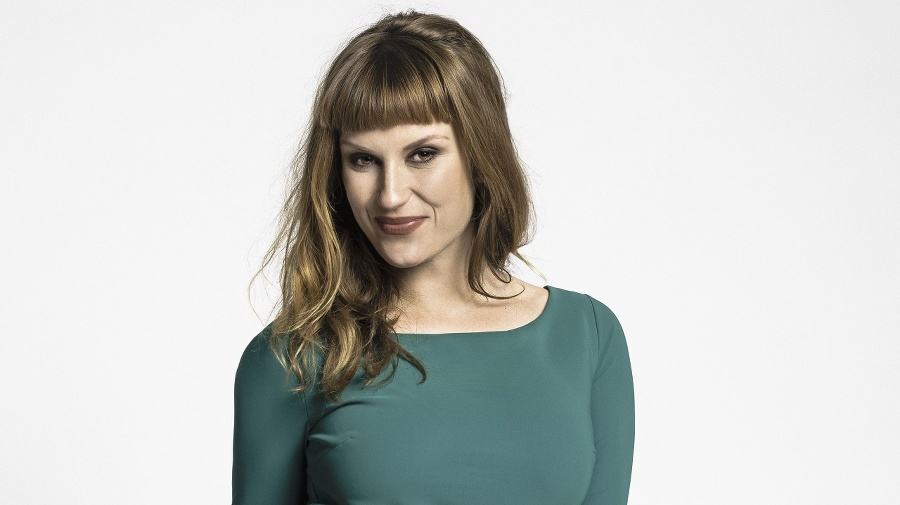 Kristína Madarová (32), herečka
