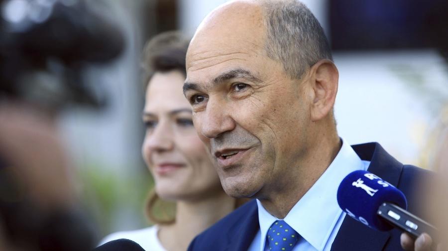 Slovinský premiér Janez Janša