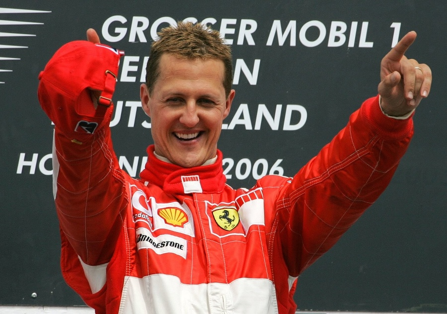 Nemec Michael Schumacher.