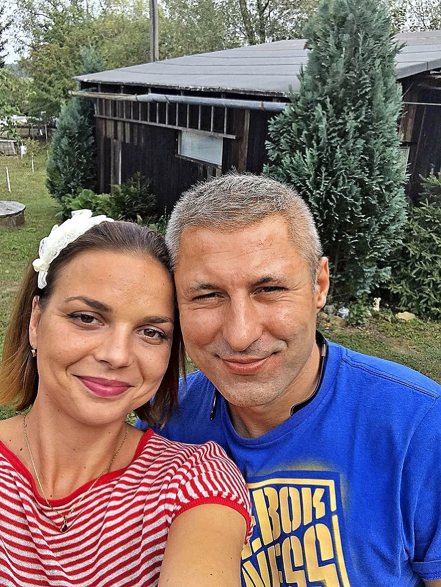 S manželom Martinom