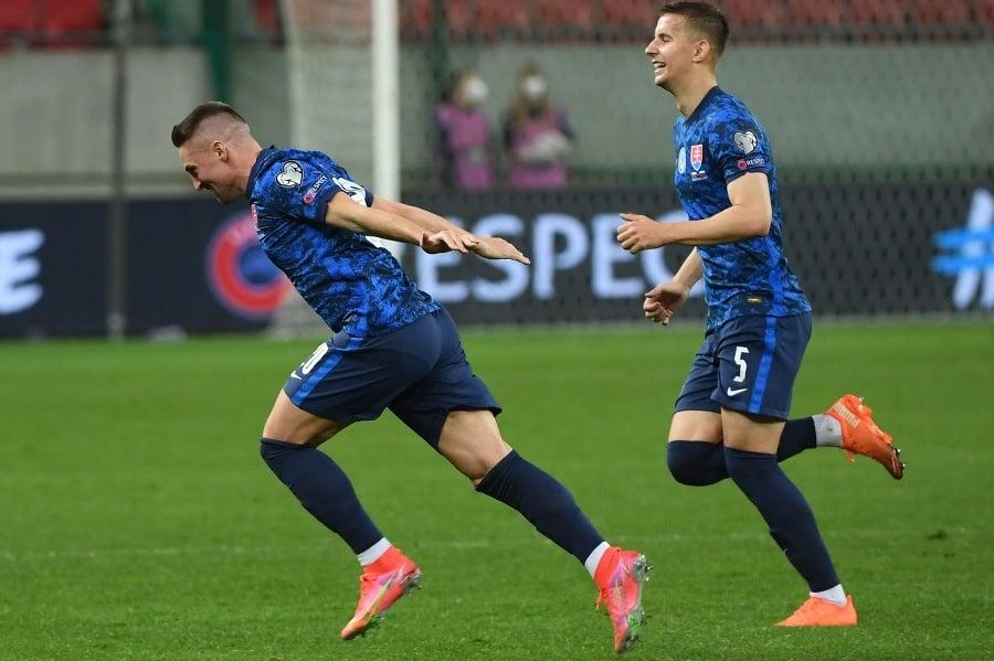 Slovenskí futbalisti v utorkovom