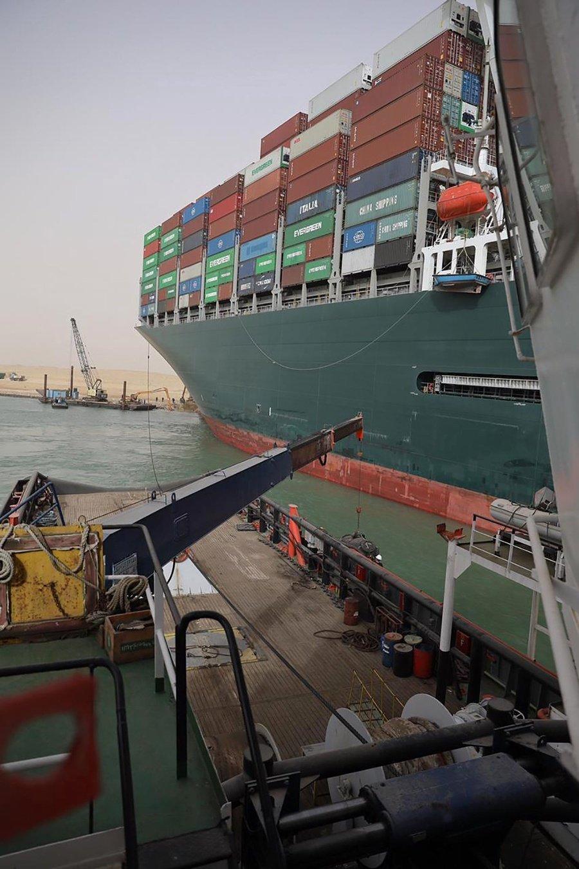 Nákladná loď Ever Green