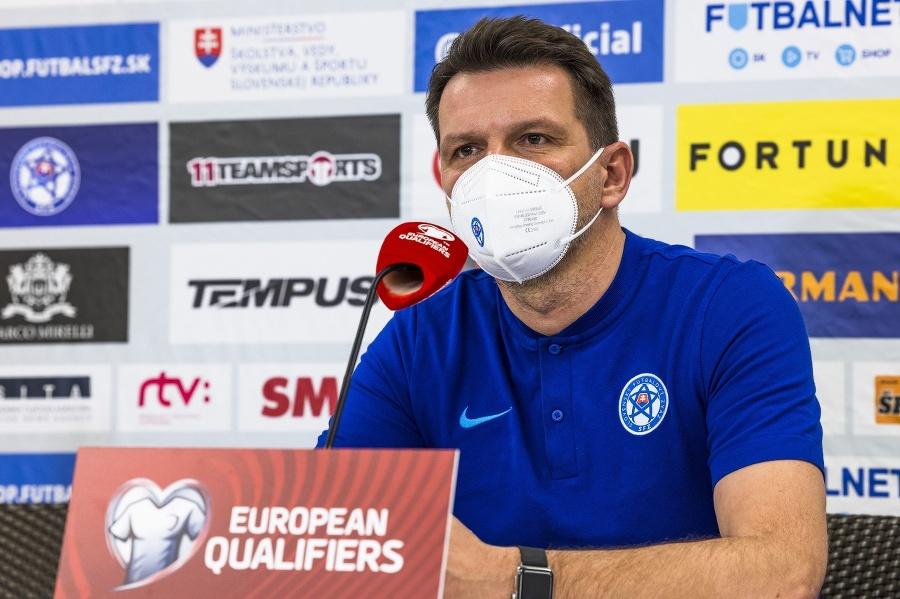 Tréner Štefan Tarkovič si