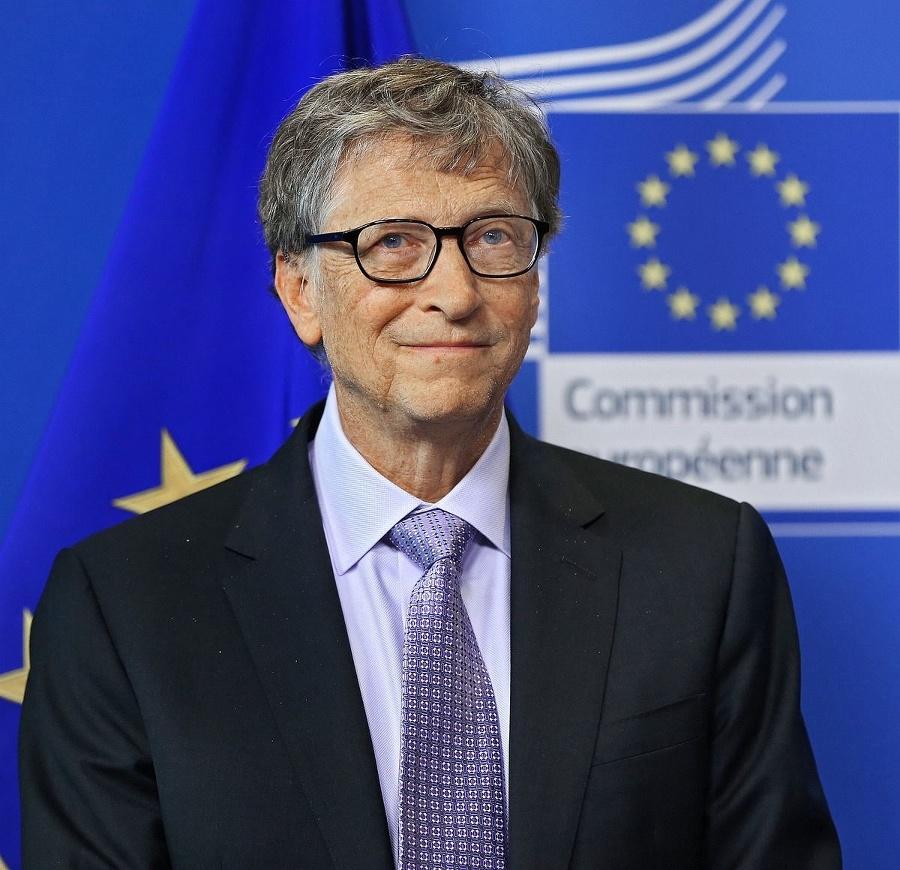Multimiliardár a filantrop Bill