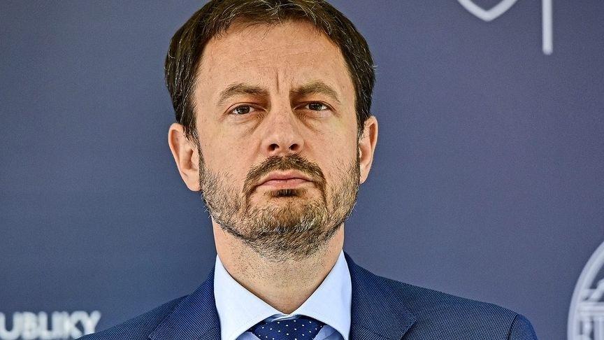 Minister Eduard Heger hovorí,