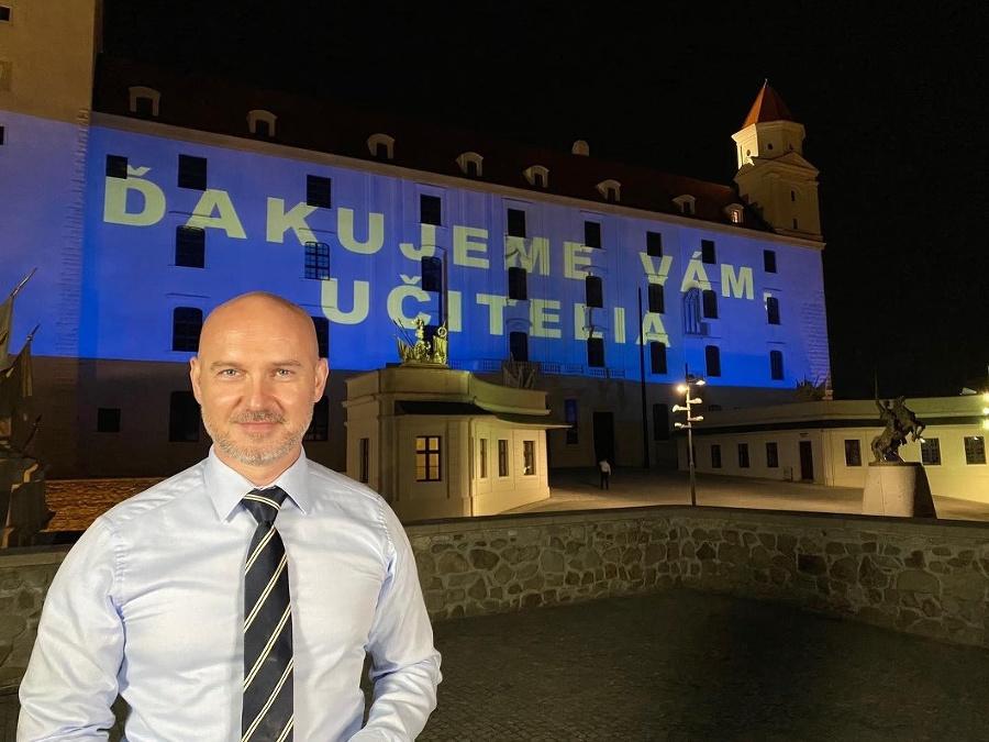 Branislav Gröhling venoval učiteľom