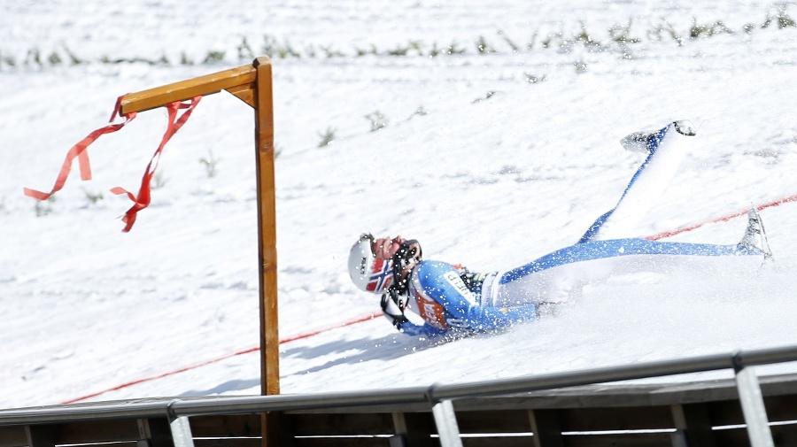 Na snímke nórsky skokan