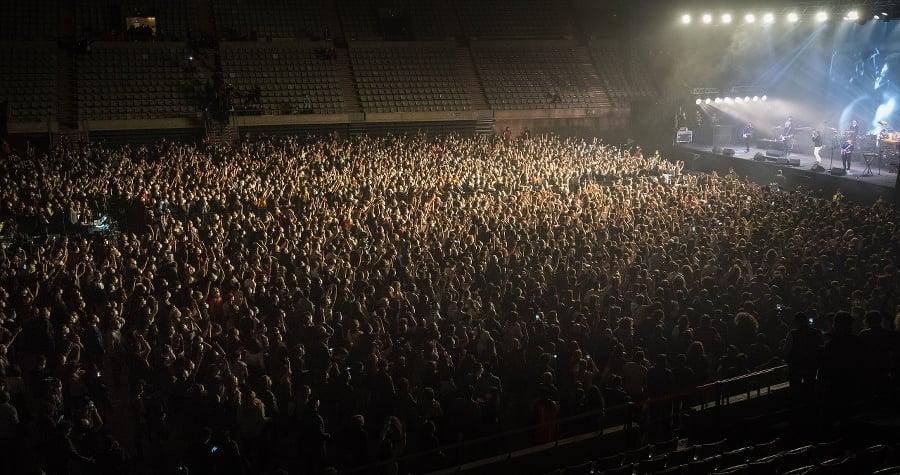 Medzi účastníkmi na koncerte