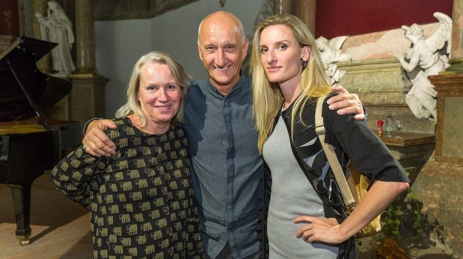 S rodičmi: Spisovateľ Jozef
