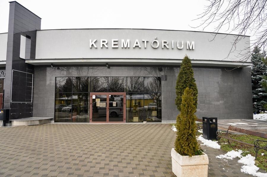Na snímke krematórium v
