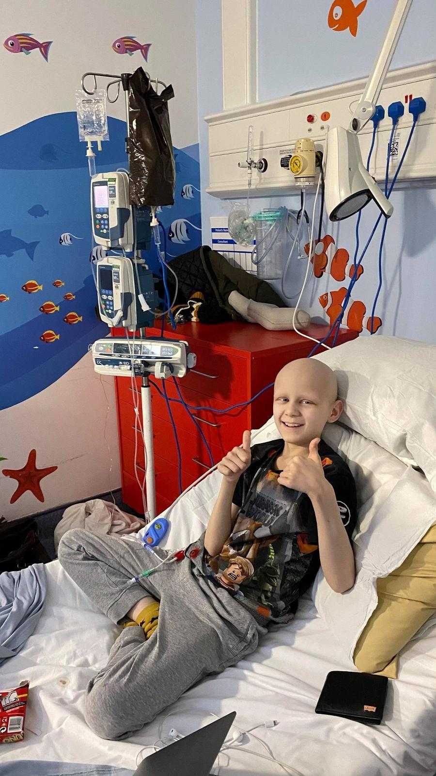 Chlapčekovi zistili nádor na