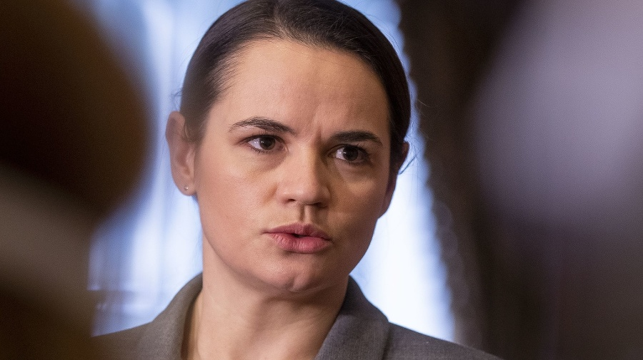 Predstaviteľka bieloruskej opozície Sviatlana