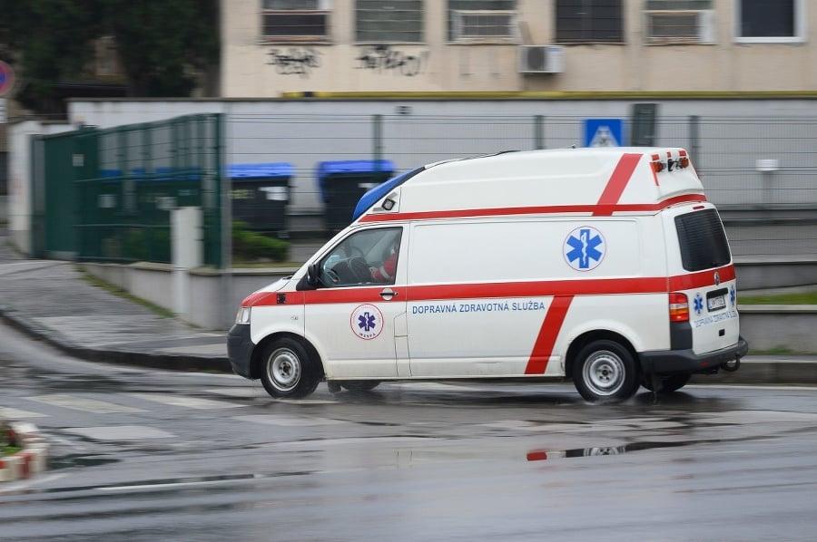 Vozidlo Dopravnej zdravotnej služby