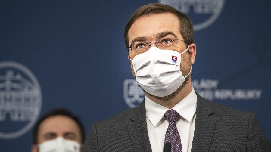 Odstupujúci minister zdravotníctva SR