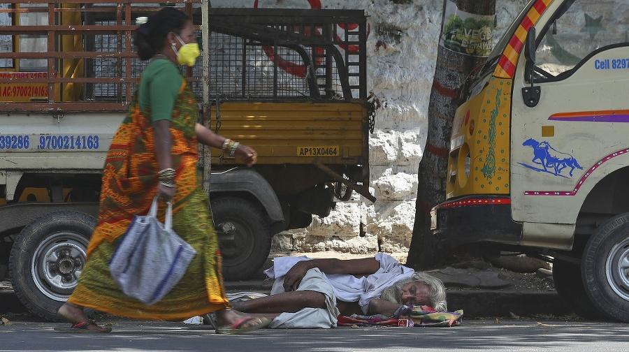 India boj s pandémiou