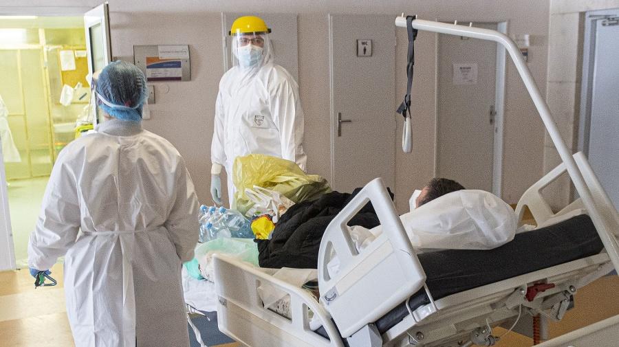 Prevoz pacienta do COVID
