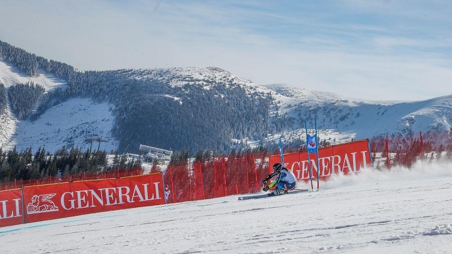 1. kolo obrovského slalomu