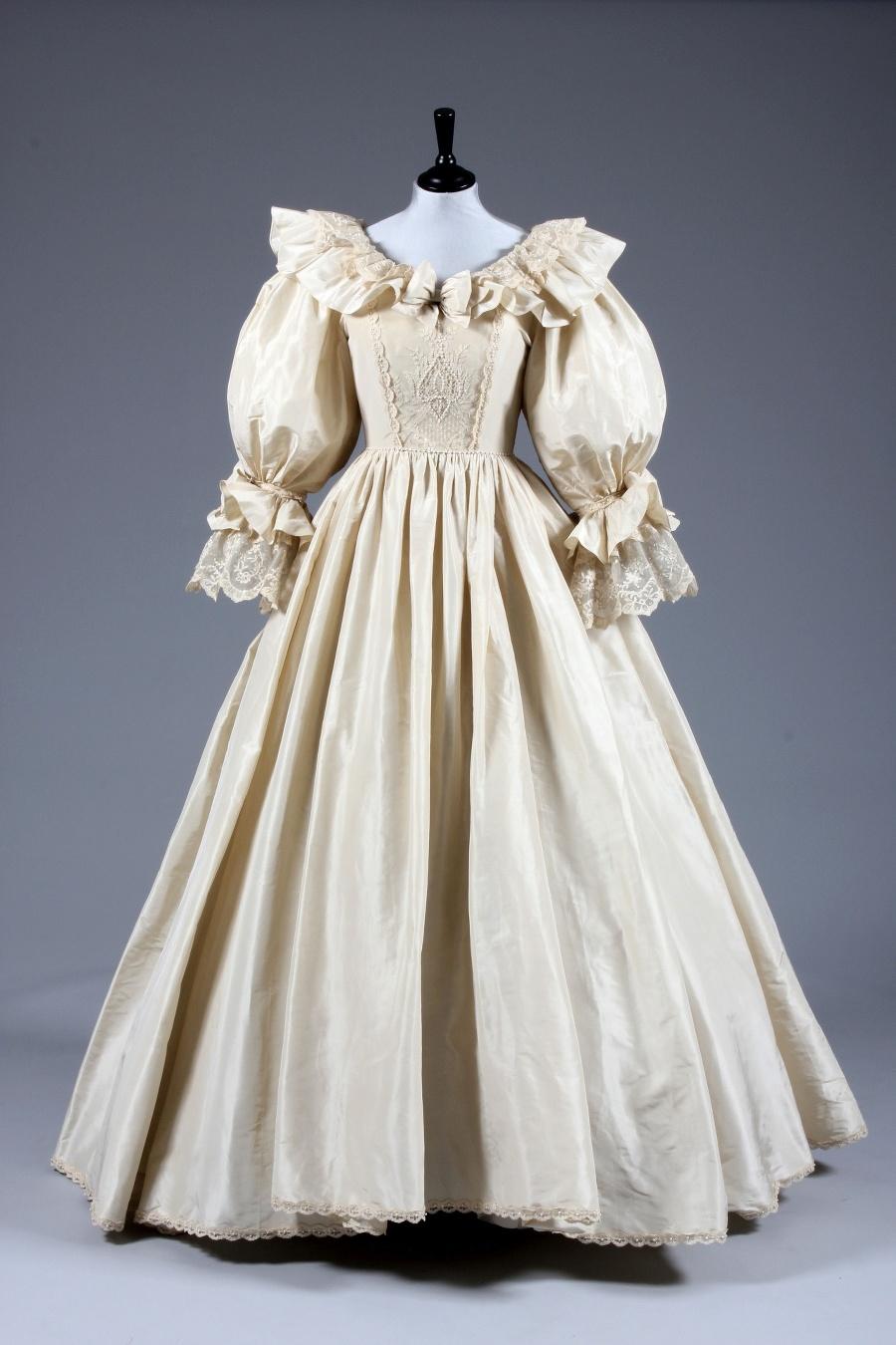 Svadobné šaty princeznej Diany