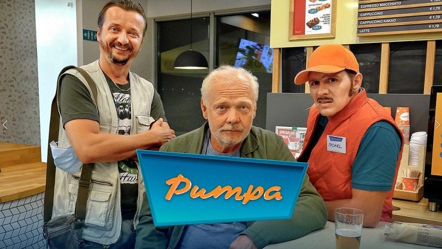 Pumpa je politicko-satirická relácia.