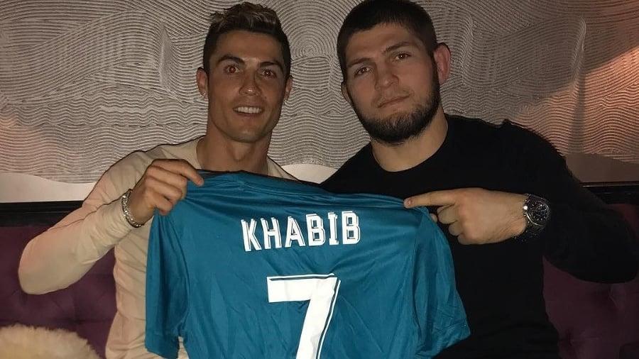 Ronaldo a Nurmagomedov sú
