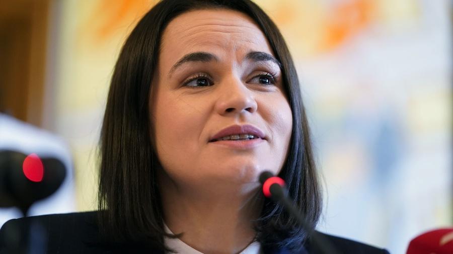 Bieloruská opozičná líderka Sviatlana