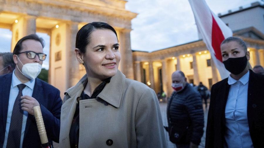 Bieloruská opozičná politička Sviatlana