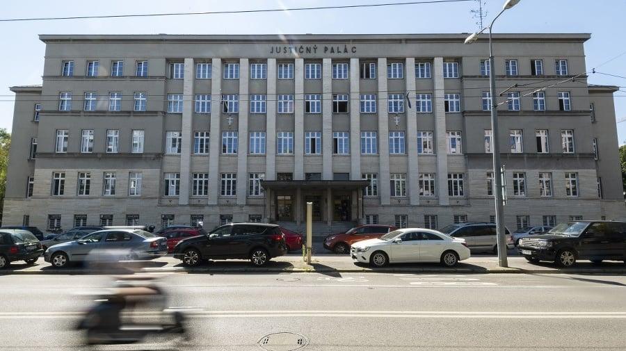 Budova Justičného paláca, v