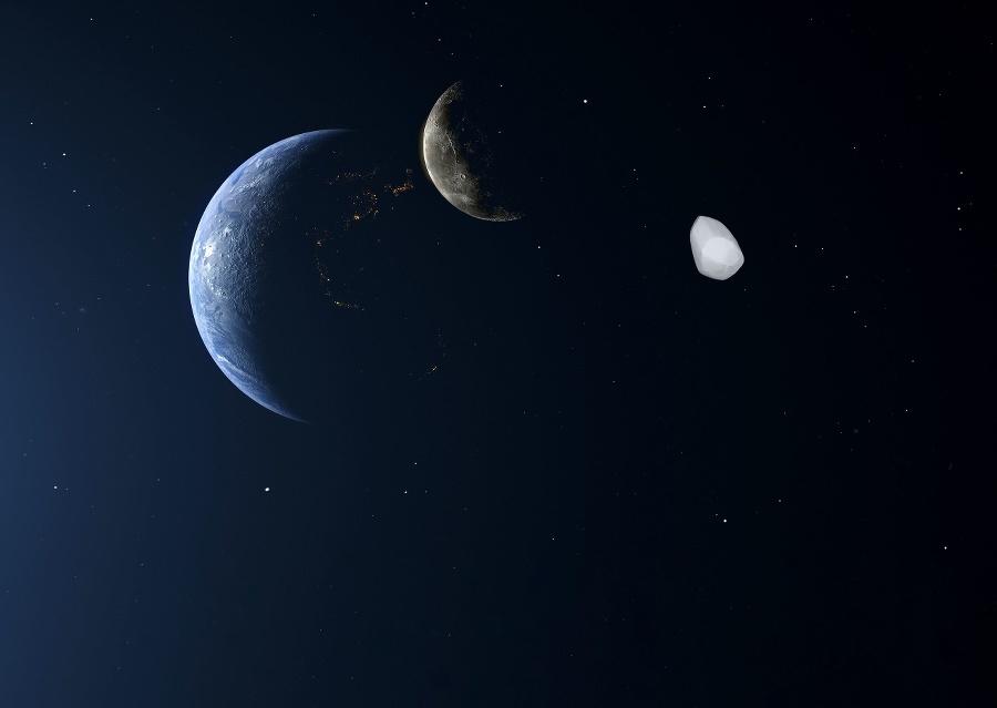 Zem, Mesiac a planétka