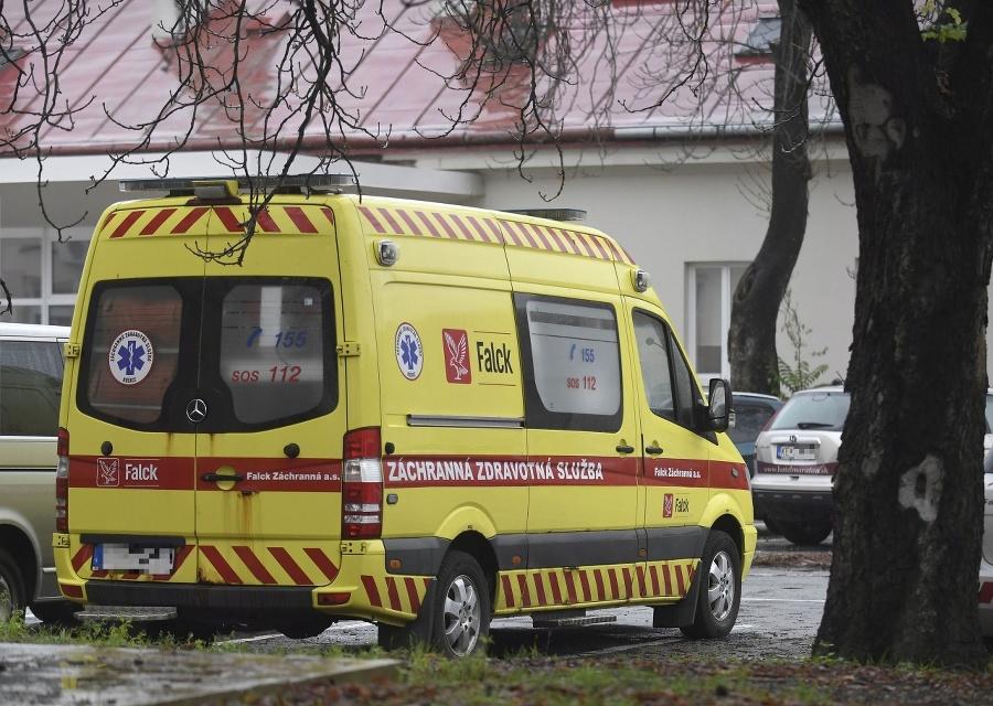 Sanitka Záchrannej služby v