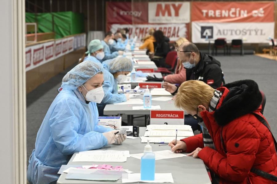 Registrácia pred očkovaním v