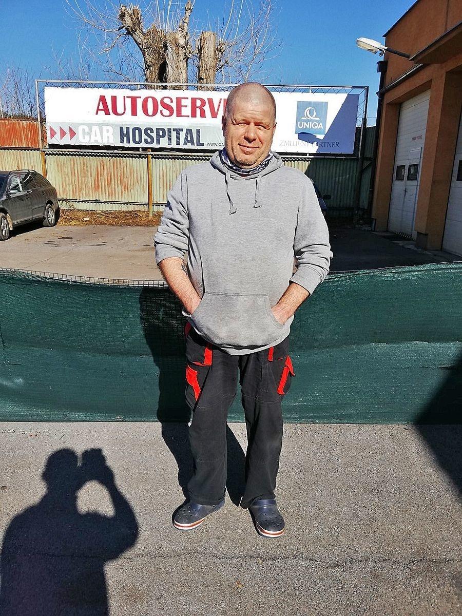 Slavomír Križan (47), automechanik,