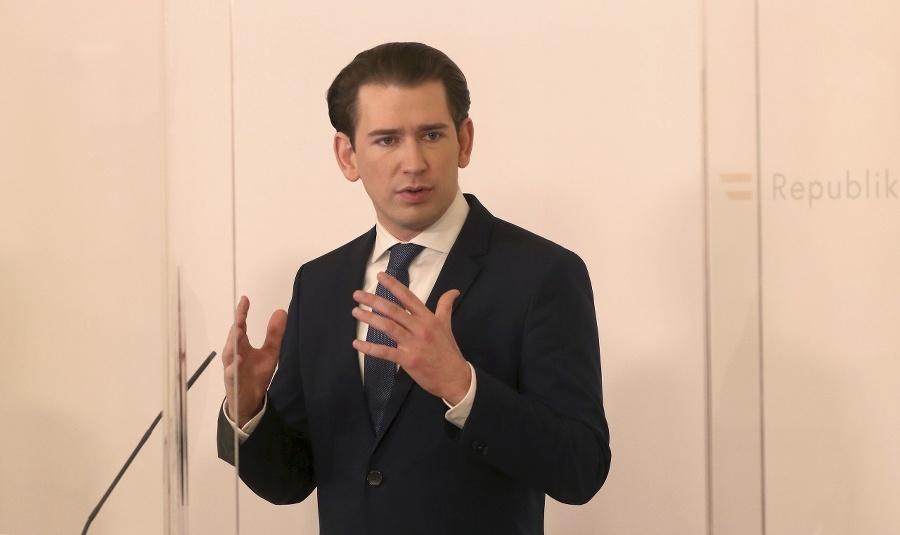 Rakúsky kancelár Sebastian Kurz