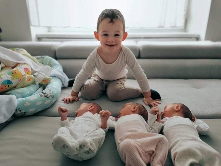 Na rozkošné azdravé bábätká