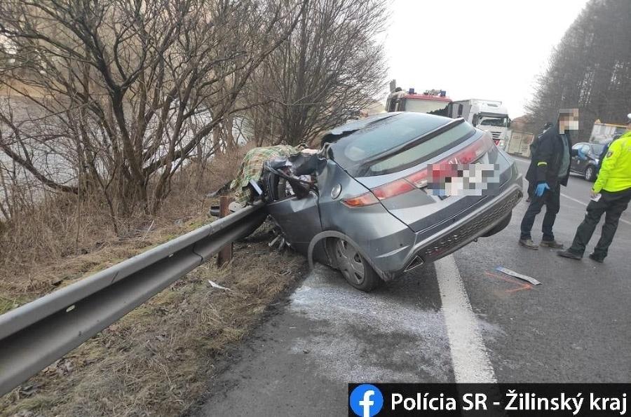 Smrteľná nehoda v Ružomberku.
