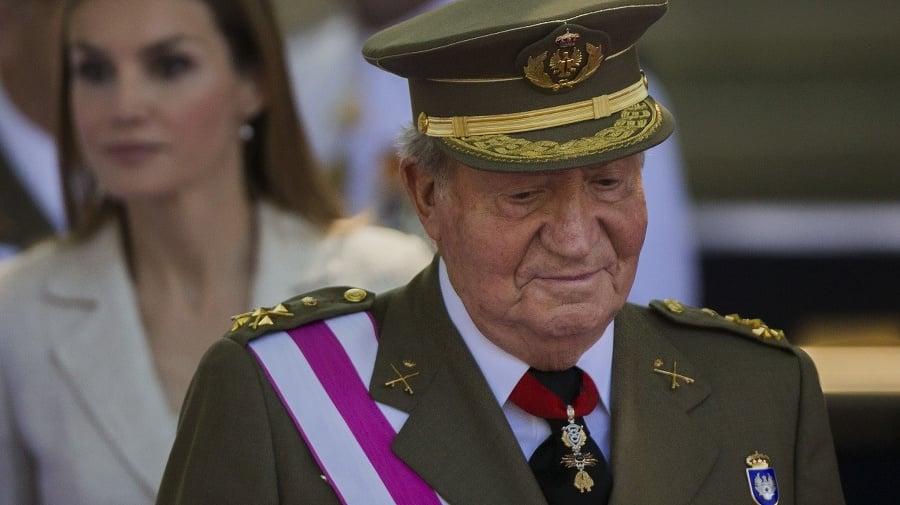 Bývalý španielsky kráľ Juan