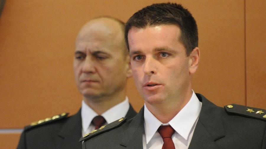 Boris Beňa (vpravo), v