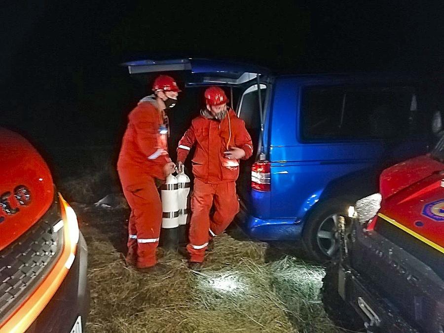 Záchranári z Prievidze doviezli