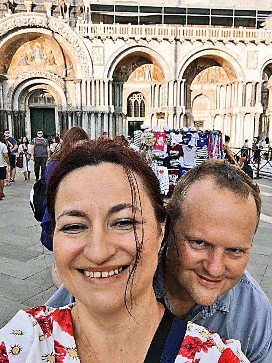 Miloš (45) s Evou
