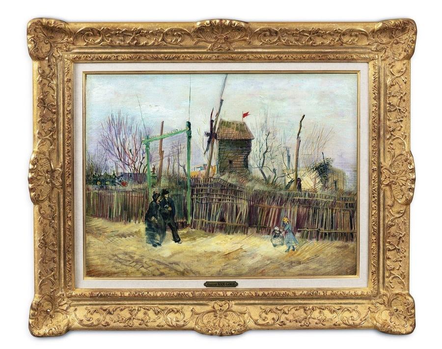 Obraz najprv vystavia v