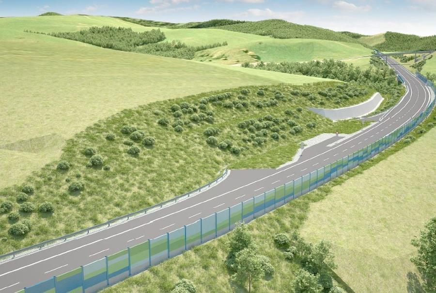 Vizualizácia rýchlostnej cesty R3