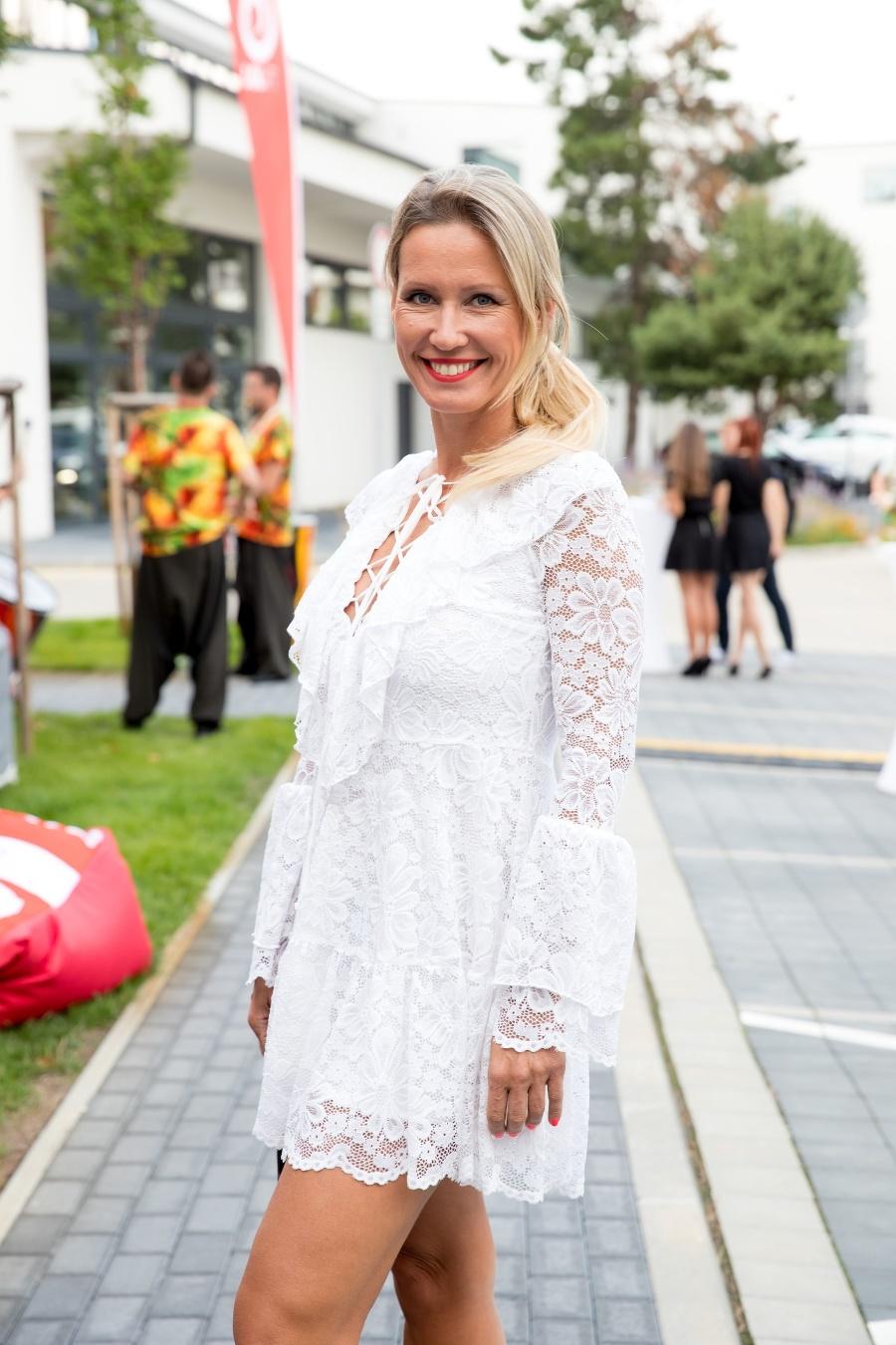 Moderátorka Erika Barkolová