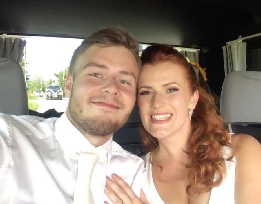 Lucia Nývltová s manželom