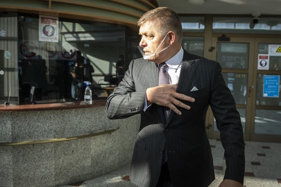 Fico vypovedal na NAKA.