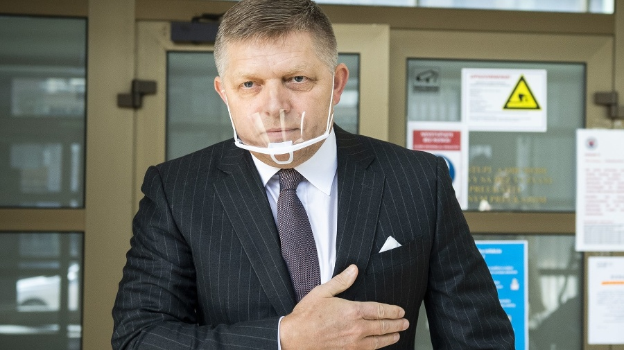 Predseda opozičného Smeru-SD Robert
