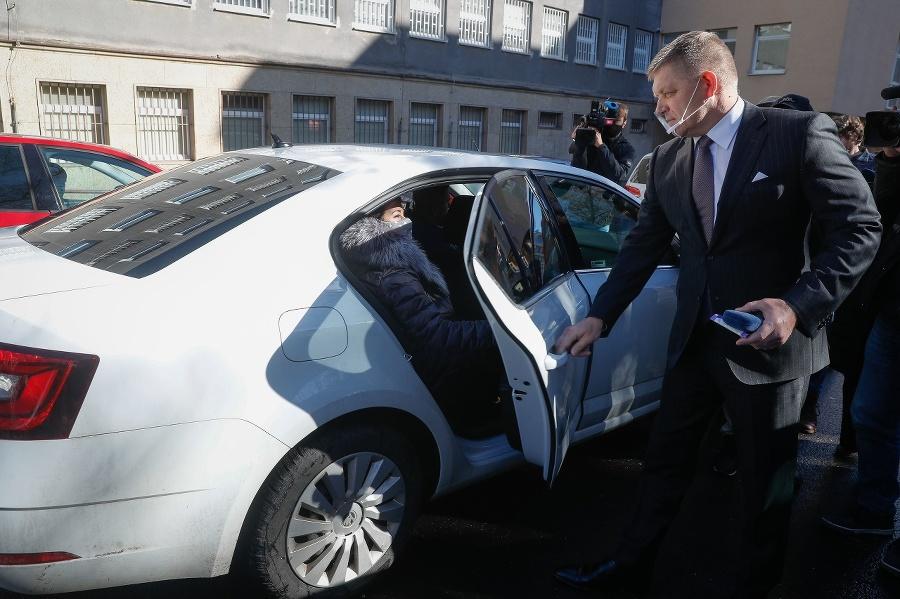 Robert Fico po výsluchu