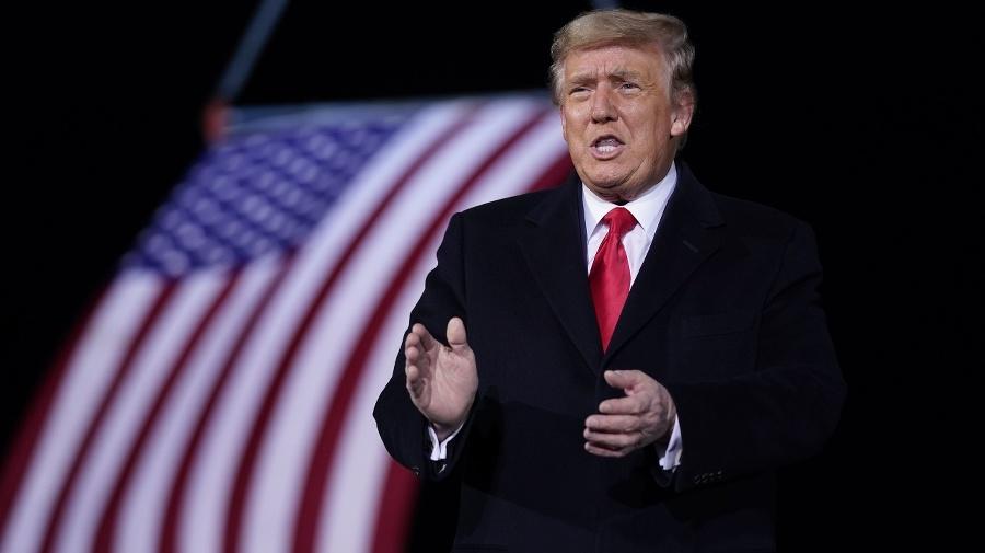 Odchádzajúci americký prezident Donald